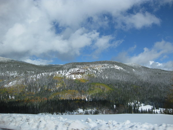 wolf creek pass view 10/8/11